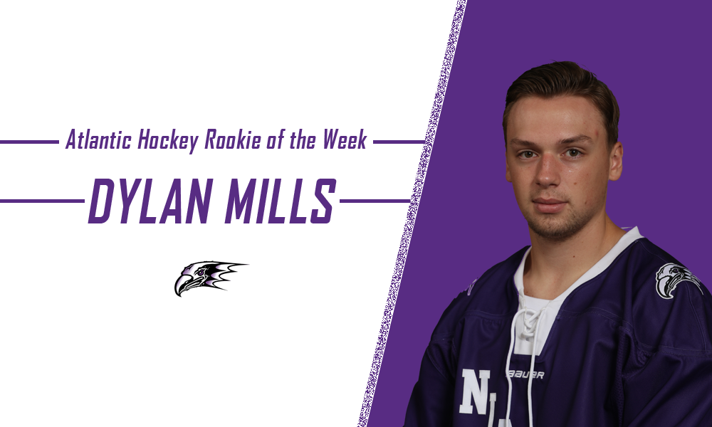 Dylan Mills Earns First Collegiate Weekly Award